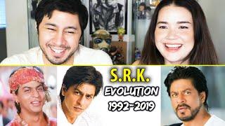 SHAH RUKH KHAN EVOLUTION (1992-2019) | Reaction | Jaby Koay