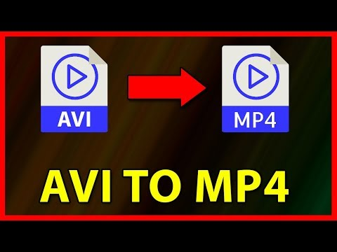 How To Convert AVI Video File To MP4 - Tutorial (2019)