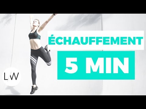 Routine échauffement musculaire (5 min) - FITNESS STUDIO BY LUCILE
