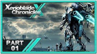 Xenoblade Chronicles X - Part 1 | Prologue: Awakening! [1080p60 English Gameplay Walkthrough]