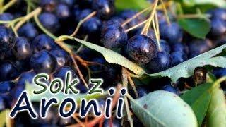 Sok z Aronii z liśćmi wiśni | smaczne-przepisy.pl