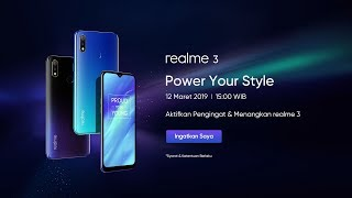 realme 3 | Indonesia Launching Event.