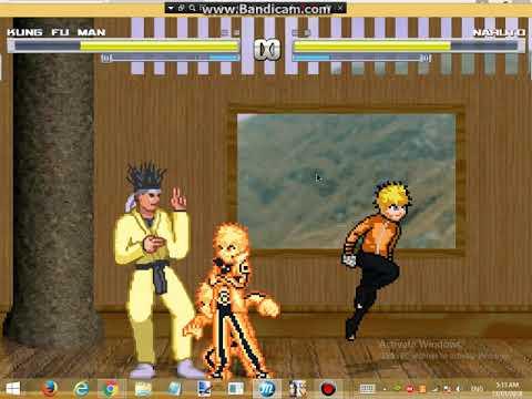 naruto vs kungfu man