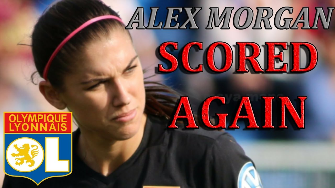 Alex Morgan SCORED AGAIN w/ Lyon ! - YouTube