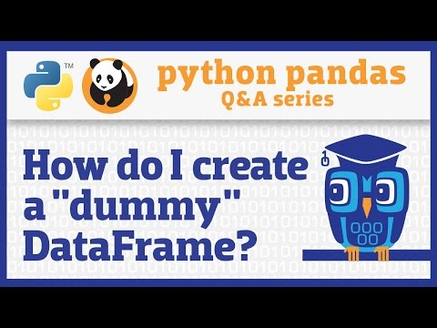 How do I create a pandas DataFrame from another object?
