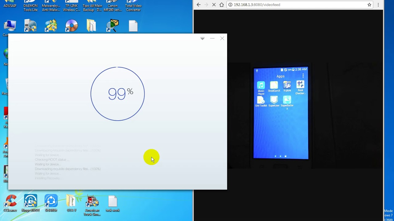How to Root Samsung Galaxy J1 SM-J100H (2015) with Computer/PC