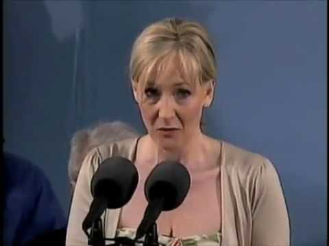 J.K. Rowling On The Benefits of Failure
