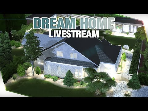 BUILDING MY DREAM HOME The Sims 4 Live Stream thumbnail