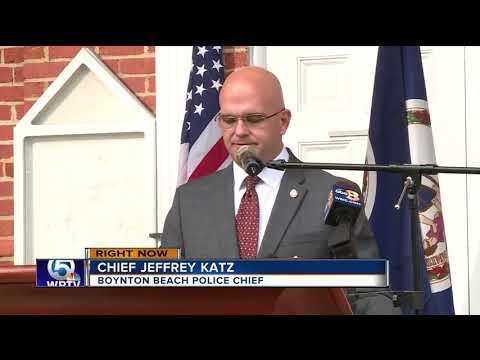 Boynton Beach Police Chief Jeffrey Katz resigning