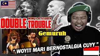 BERNOSTALGIA CUYY!!! Search ft Wings - Gemuruh live - REACTION By Endhy TK