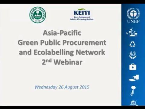 Asia Pacific GPP EL Network 2nd webinar