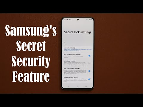 Samsung's Secret Security Feature For Your Galaxy Smartphone (Galaxy S20, Note 10, S10, Etc)