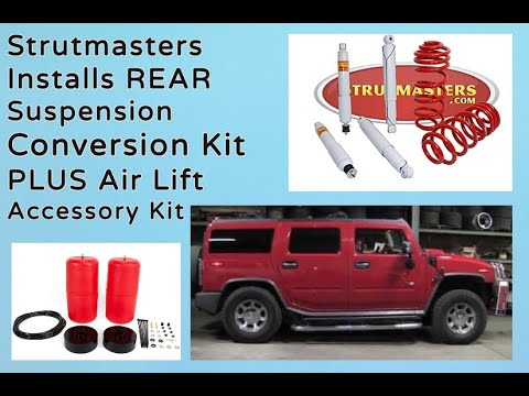 How To Fix The Front And Rear Suspension On A Hummer H2