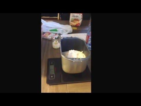 ( video 1 )Comment faire du pain avec une machine à pain