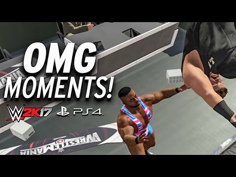 Every OMG Moment In WWE 2K17 (PS4 & XBOX ONE)