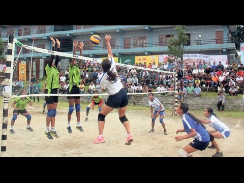 Womens Volleyball Final Game 2019 | APF VS NEW DIAMOND | National | International Game