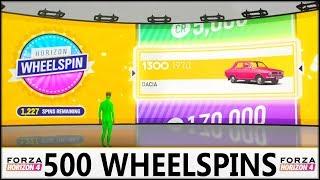 Forza Horizon 4 - 500 WHEELSPINS