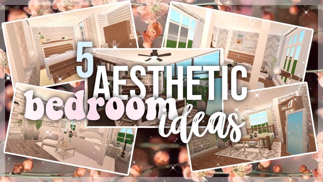 Bloxburg 5 Aesthetic Bedroom Ideas Youtube