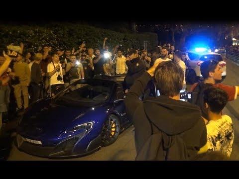 POG causing CHAOS IN MONACO - POLICE SEIZING Mclaren 675LT!!!