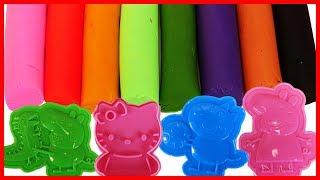 粉紅豬小妹凱蒂貓培樂多彩泥黏土手工玩具