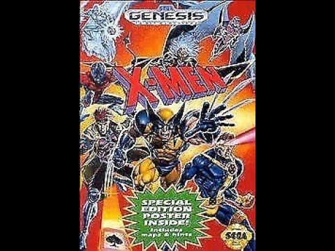 X Men Sega Genesis Megadrive Walkthrough Youtube