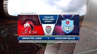 Vodacom Super Hero Sunday |  Emirates Lions v Vodacom Bulls | Highlights