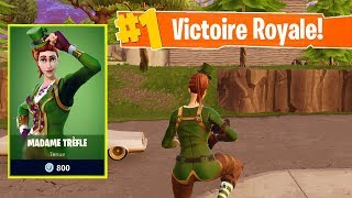 *NOUVEAU* SKIN MADAME TREFLE sur FORTNITE Battle Royale !