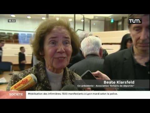 30 ans du procès de Klaus Barbie : Beate Klarsfeld à Lyon