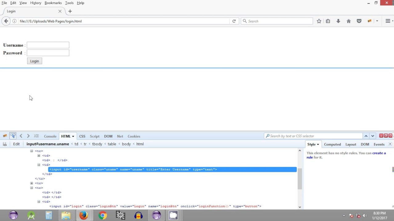 Selenium Tutorial #19 - Login using Selenium WebDriver
