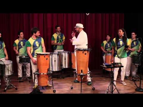 Samba Reggae Progression With Marcus Santos - Tamanquinho Class