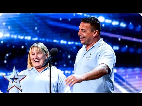 Lisa and Chris are a smashing success | Week 3 Auditions | Britain's Got Talent 2016