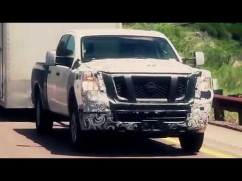 nissan teases new titan france to phase out diesel fuel autoline daily 1510 youtube. Black Bedroom Furniture Sets. Home Design Ideas