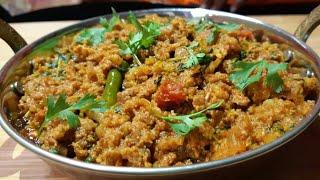 Keema Methi Fry Recipe l How to make Keema methi l खीमा मेथी रेसिपी