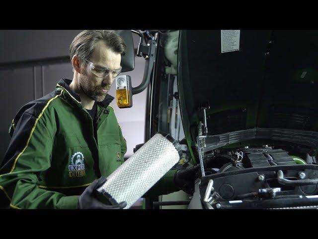 John Deere   Expert Tip Turf - Air Filter Inspection