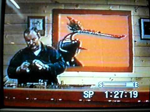 Warren Duncan. Tying a Rusty Rat while reciting po...