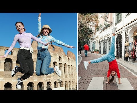 What Would You Do in ITALY? - Behind The Braids Ep 107 with Brooklyn and Bailey and Kamri Noel - 동영상