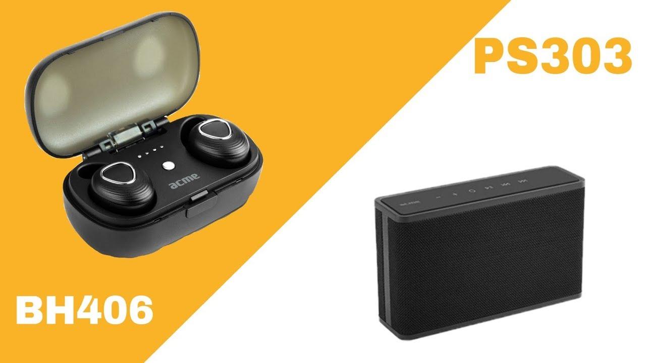 TeszTech ACME Bluetooth fülhallgató és hangszóró PS303-BH406  - YouTube d2503badb5