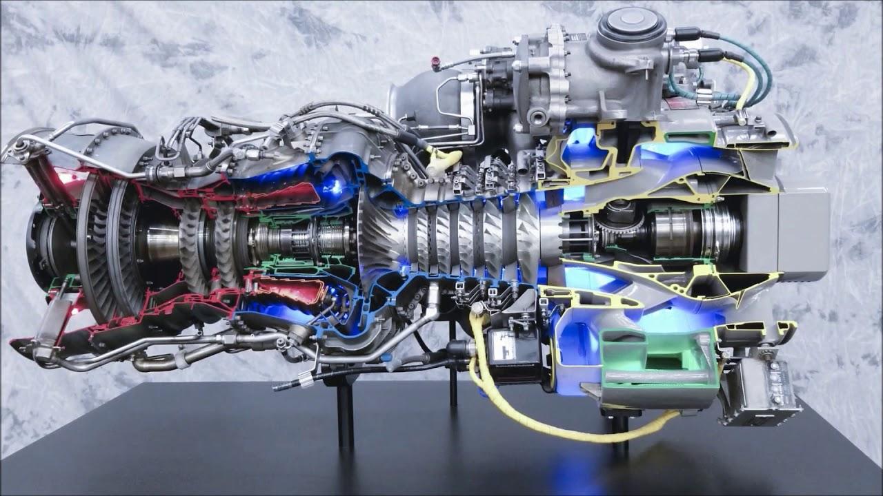 GE Black Hawk T700 Engine - YouTube   Ge T701c Turbine Engine Operating Diagram      YouTube