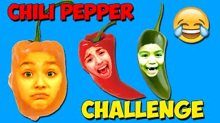 Chili Pepper Challenge | Gummy Ghost Pepper Habanero Jalapeno | Disney Princess Surprise Package