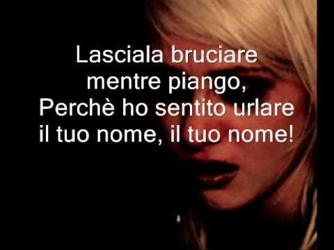 Adele-Set fire to the rain traduzione in italiano