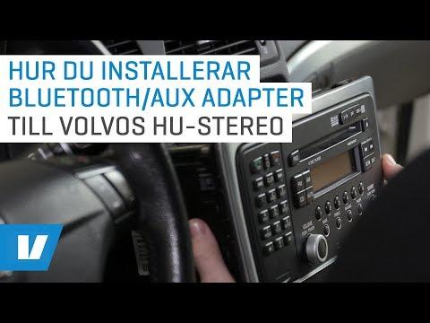 Hur du installerar bluetooth/aux adapter till Volvos HU-stereo