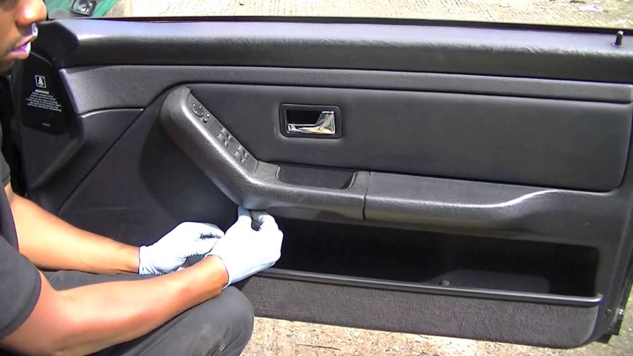 Audi 80 Cabriolet Door Panel Removal, Simple Easy Steps