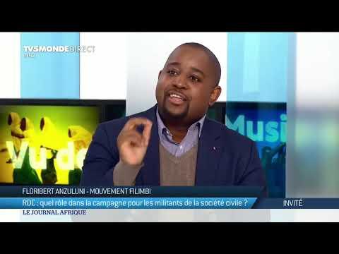🇨🇩 Filimbi - Floribert Anzuluni donne sa vision de la campagne électorale en RDC