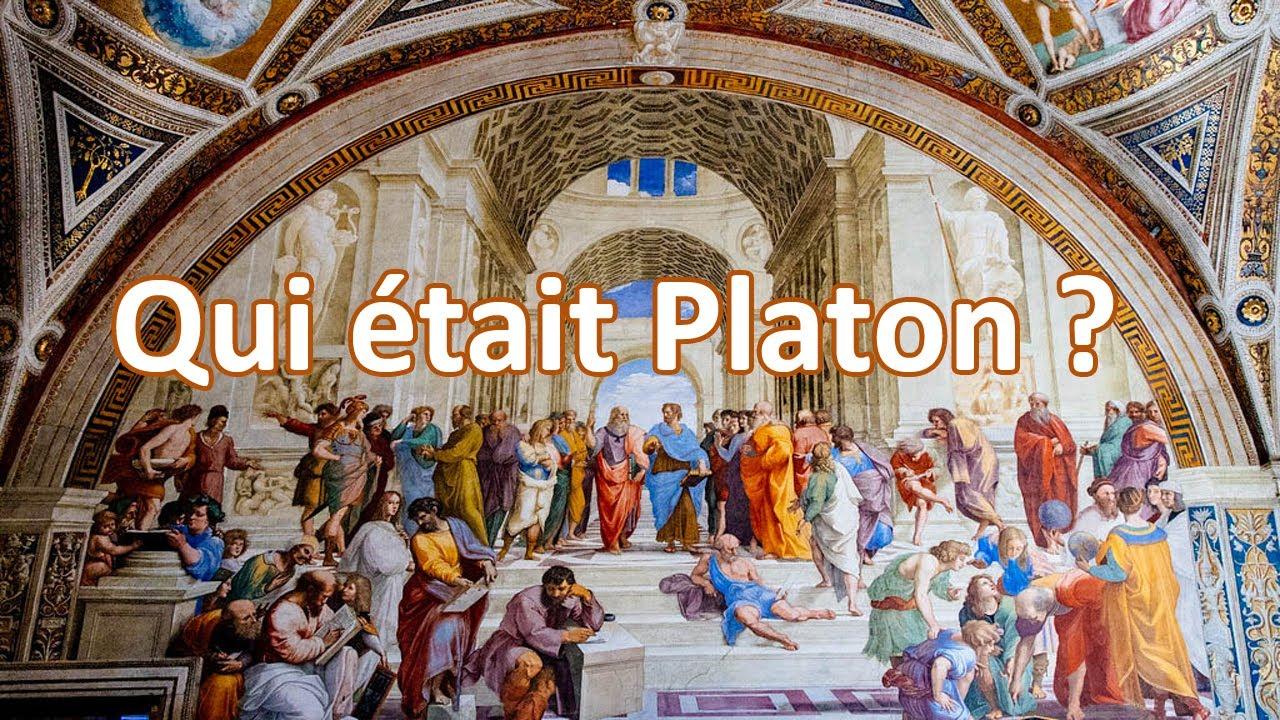 Qui Etait Platon Biographie Et Philosophie Youtube