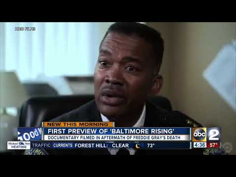 "Freddie Gray HBO Documentary ""Baltimore Rising"""