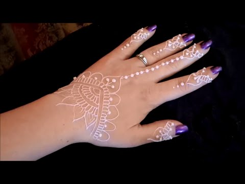 natural henna white henna glitter gel tutorial youtube. Black Bedroom Furniture Sets. Home Design Ideas