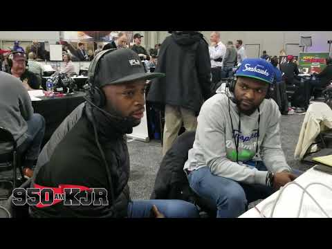 None - Ricardo Lockette & Reggie Wayne joins Cliff & Puck in Atlanta (Video)