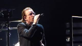 u2 get out of your own way live at forum assago milano 11102018