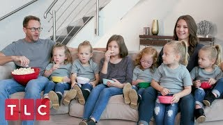 The Busbys Watch OutDaughtered Together!