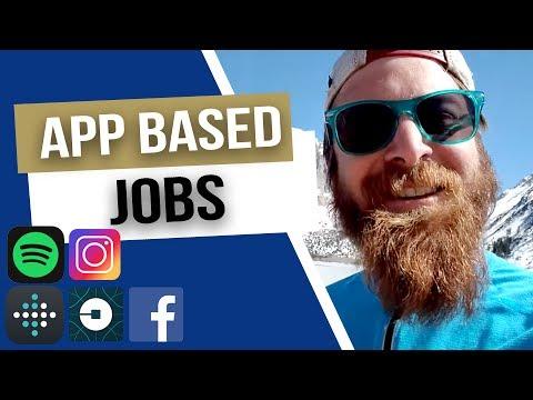 App-based jobs?